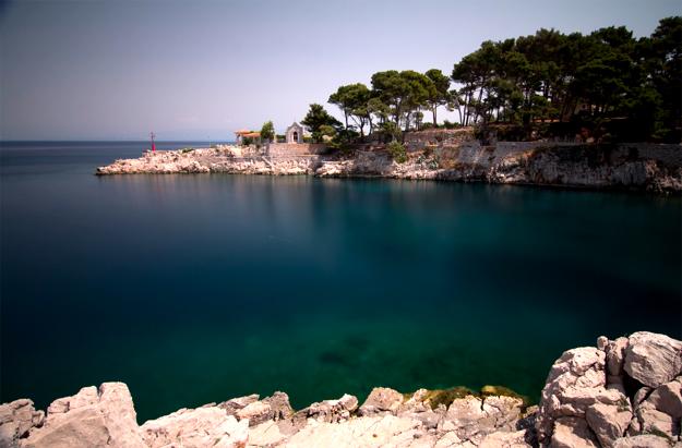 Адриатическое море, Хорватия, остров Лошинь