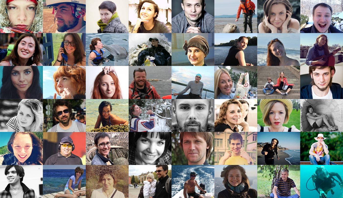 Портрет участников конкурса Лучшая работа в России 2014